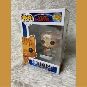 Goose the Cat Captain Marvel Funko POP